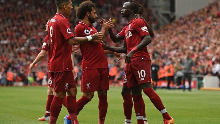 Premier League, il Liverpool cala il poker col West Ham. Man City ok con l'Arsenal