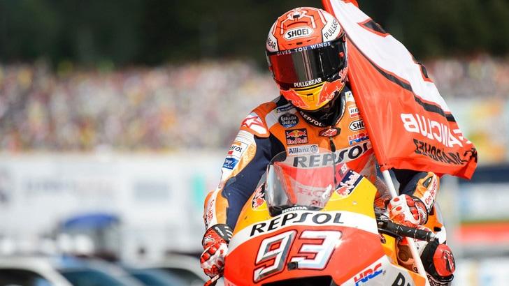 MotoGp Austria, Marquez: «Contento per il vantaggio in campionato»