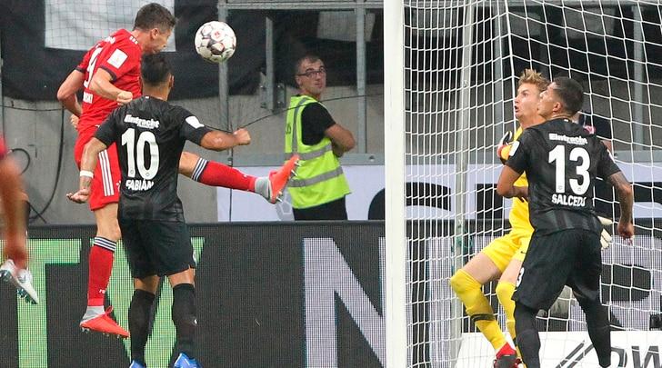 Supercoppa al Bayern Monaco: super Lewandowski, Eintracht ko