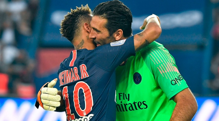 Ligue 1, Psg-Caen 3-0: debutto vincente per Buffon