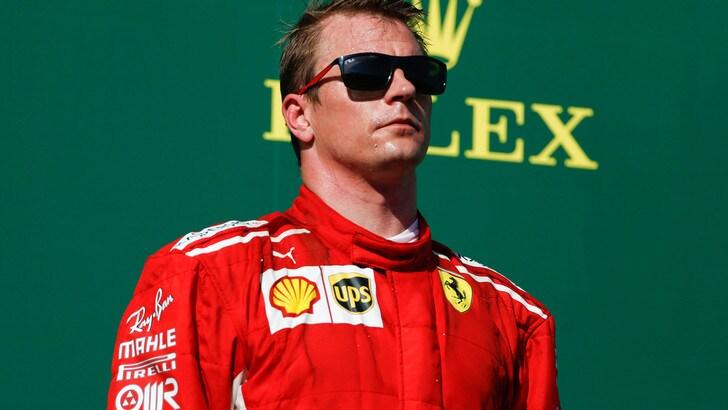 F1 Ferrari, Raikkonen con la Rossa per le prossime due stagioni