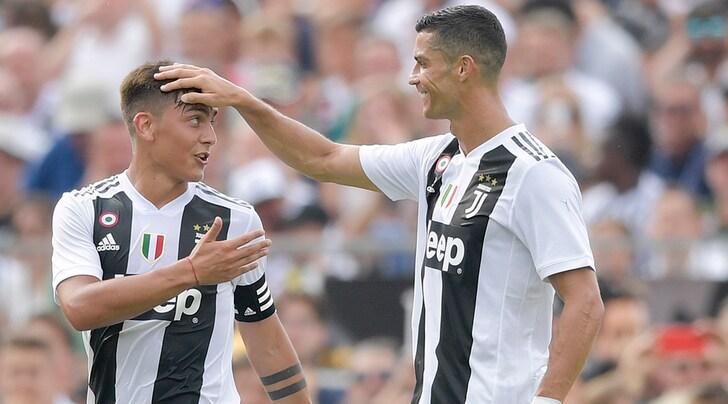 Juventus: Allegri, fionda o boa per scatenare Cristiano Ronaldo