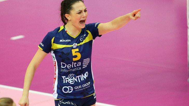 Volley: A2 Femminile, Montecchio punta su Francesca Michieletto