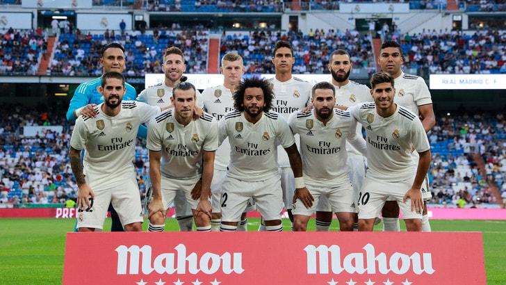 Supercoppa europea, Real Madrid avanti nelle scommesse sul vincente