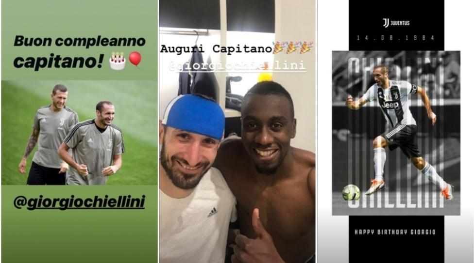 Centinaia i messaggi di auguri sul web per il capitano bianconero