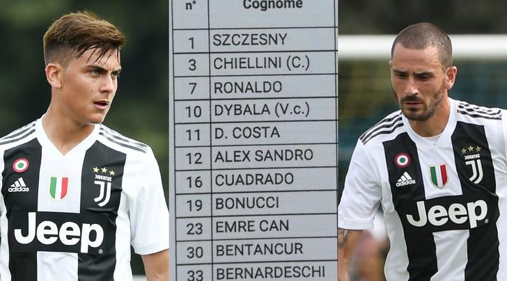 Nuove gerarchie Juventus: Dybala vicecapitano dietro Chiellini
