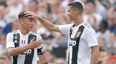 Juventus, CR7 punta il Chievo: suo il primo gol nell'8-0 all'U23