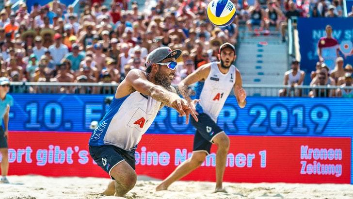 Beach Volley: alle World Tour Finals Lupo-Nicolai battono Samoilovs-Smedins