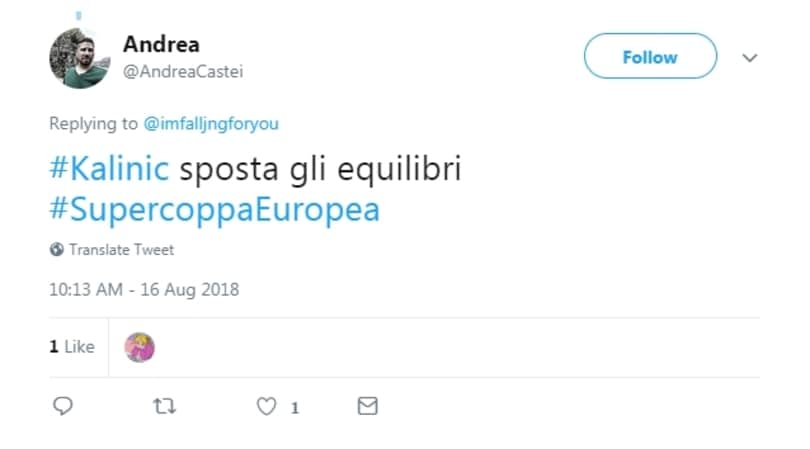 Ironia social, Kalinic vince subito dopo aver lasciato il Milan