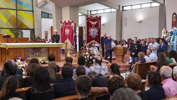 Chiesa gremita, funerale Rita Borsellino