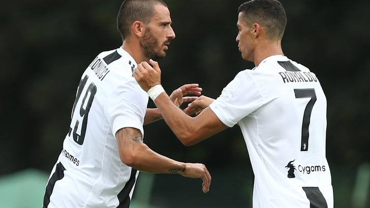 La probabile formazione della Juventus contro il Chievo