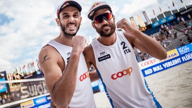 Beach Volley:  Finals World Tour, Lupo-Nicolai ai quarti nonostante la sconfitta