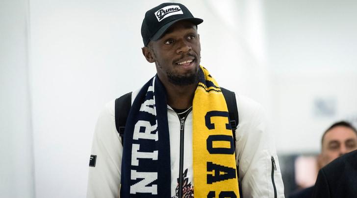 Bolt è arrivato in Australia: giocherà con i Central Coast Mariners