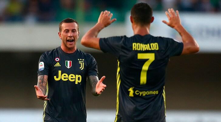 Chievo-Juventus, le pagelle: Bernardeschi devastante, Dybala si accende nella ripresa