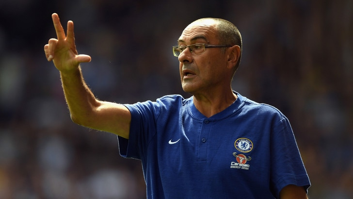 Sarri vince il derby con l'Arsenal: Chelsea a punteggio pieno
