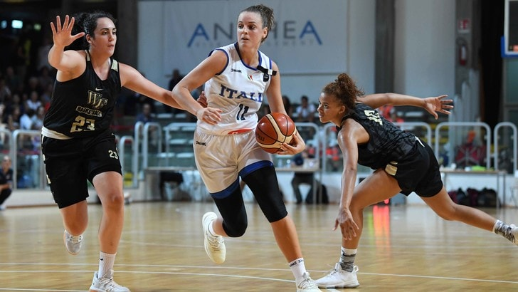 Basket Nazionale Femminile, Pan stende Wake Forest