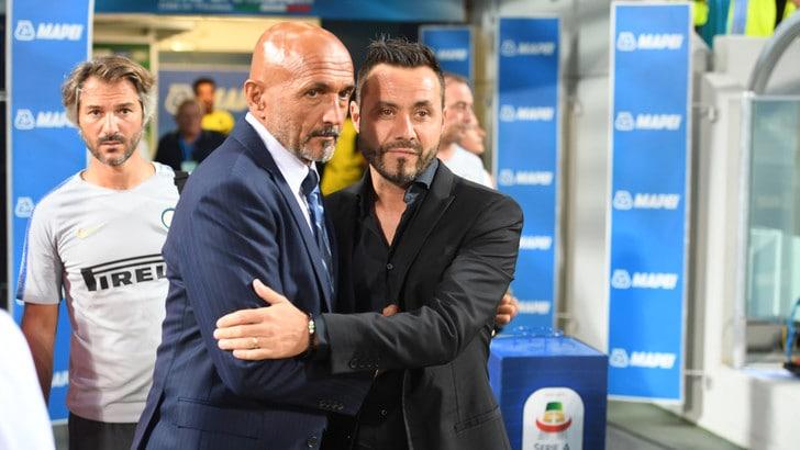 Serie A Sassuolo, De Zerbi: «E' più facile giocare contro l'Inter»