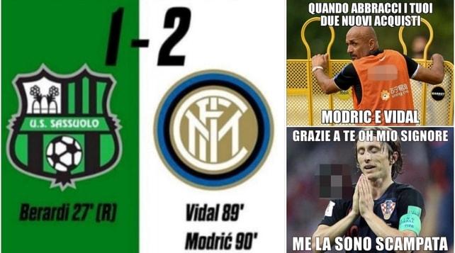 L'Inter di Spalletti perde al debutto col Sassuolo: social senza pietà