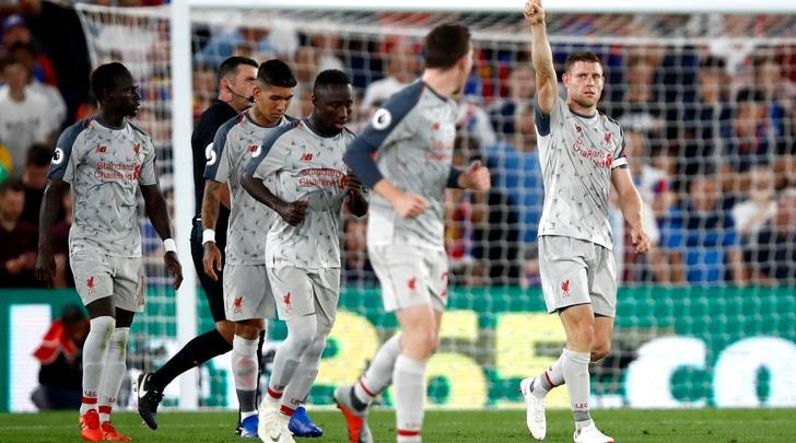 Premier League, Milner-Mané: il Liverpool va