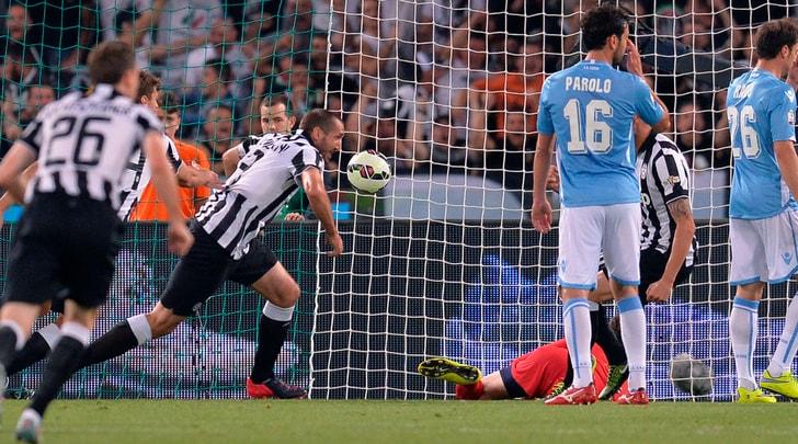 Dalla doppietta di Chiellini all'addio di Nedved: è Juventus-Lazio