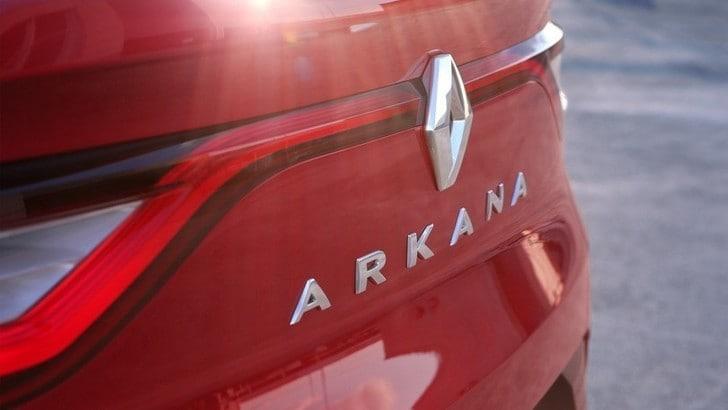 Renault Arkana, arriva il nuovo crossover