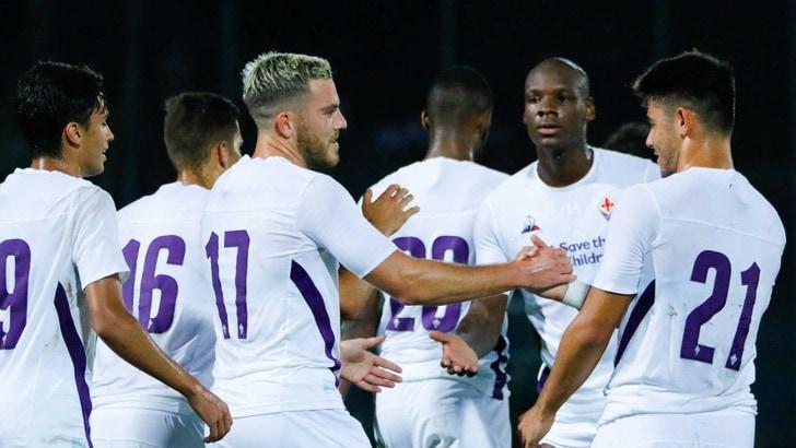 Arezzo-Fiorentina 1-2, Eysseric e Veretout in gol
