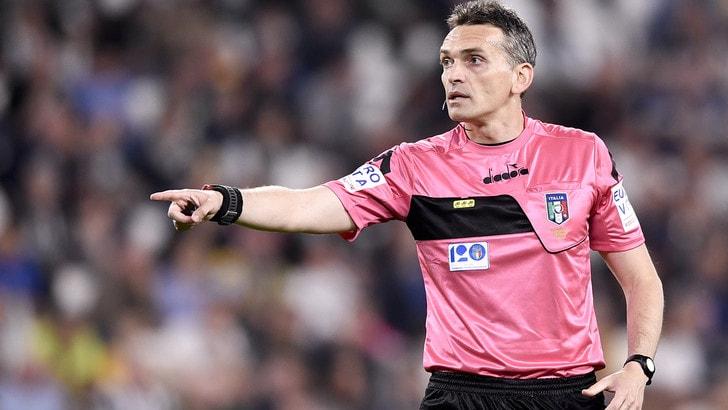 Serie A Juventus-Lazio, l'arbitro è Irrati. Inter-Torino: Mazzoleni