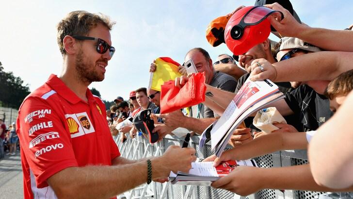 F1, Belgio: «Batterie ricaricate» per Vettel e Raikkonen