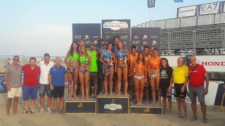 Beach Volley: Marchetto-Di Silvestre e They-Scampoli tricolori Under 21