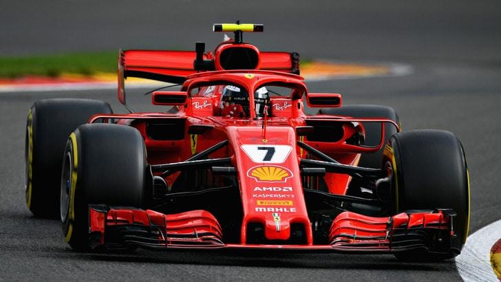 F1, un omaggio a Genova dalla Ferrari