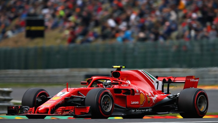 F1 Belgio, Libere 2: Raikkonen davanti, Vettel 5°