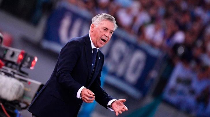 Napoli, Ancelotti: «Milan, sarà un concentrato di emozioni»