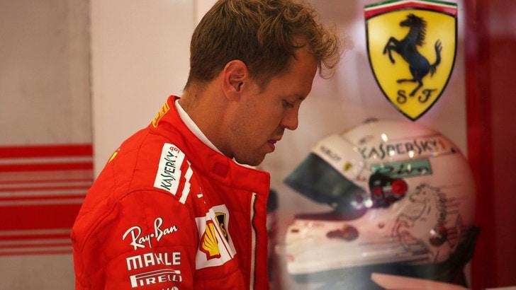 F1 Belgio, Ferrari più veloci, ma Vettel dice: «Macchina non è come la vorrei»
