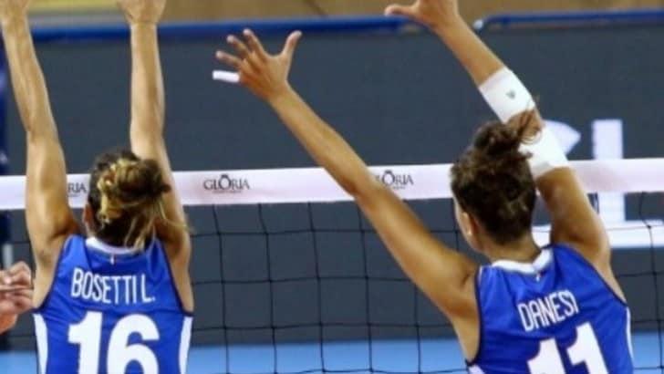 Volley: l'Italia di Mazzanti si arrende anche all' Azerbaijan