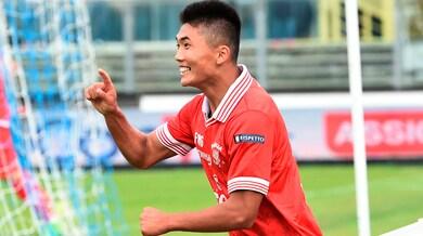 Serie B Perugia, guai per Han: distorsione al ginocchio sinistro