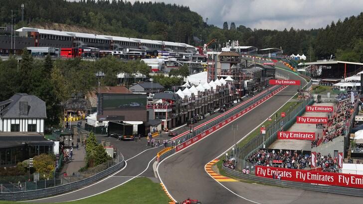 F1, Gp Belgio diretta qualifiche ore 15