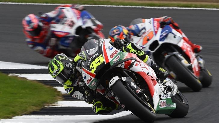 MotoGp Silverstone: Libere 3 a rilento, Rossi è 9°