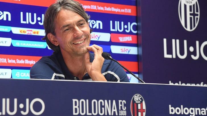 Serie A Bologna, Inzaghi: «Dobbiamo fare una grande partita»