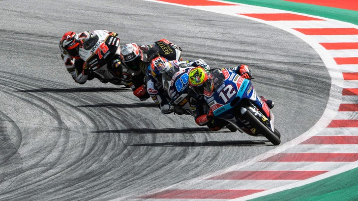 Moto3 Silverstone: Martin in pole, Di Giannantonio è 5°