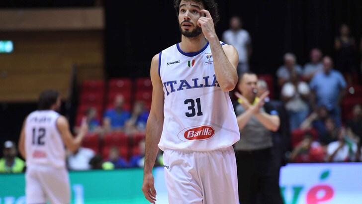 Raduno Italbasket: out Della Valle e Michele Vitali, c'è Candi