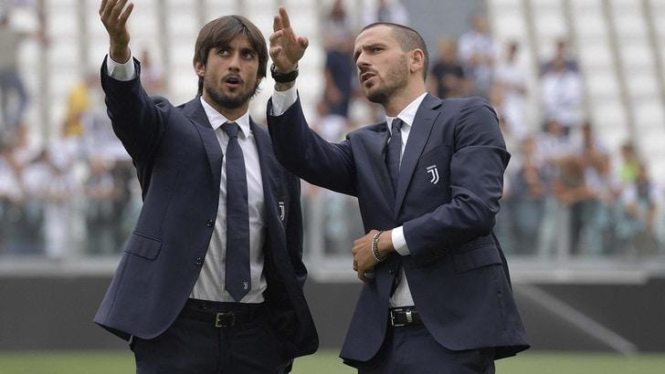 Juventus, la curva fischia Bonucci, il resto dello stadio applaude