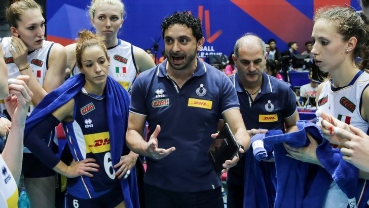 Volley: L'Italia femminile in campo nella Gloria Cup