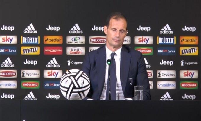 """Allegri sul sorteggo di Champions: """"Interessa passare"""""""