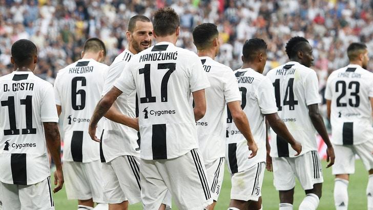 Juventus, le pagelle: baluardo Chiellini, Bernardeschi c'è sempre