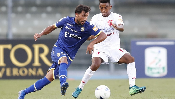Serie B Verona-Padova, Almici illude, Ravanelli pareggia. Termina 1-1