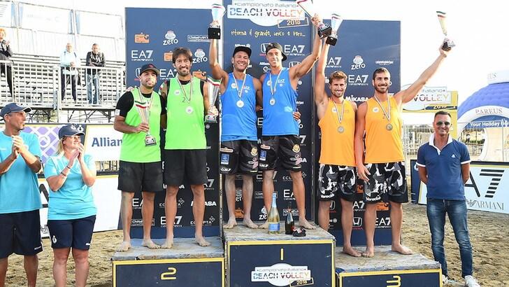 Beach Volley: la Coppa Italia la alzano Andreatta-Abbiati e Toti-Allegretti