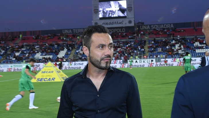 Serie A Sassuolo, De Zerbi: «Genoa, squadra imprevedibile»