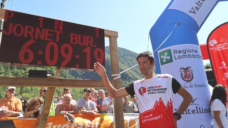 Kilian Jornet da record al Trofeo Kima