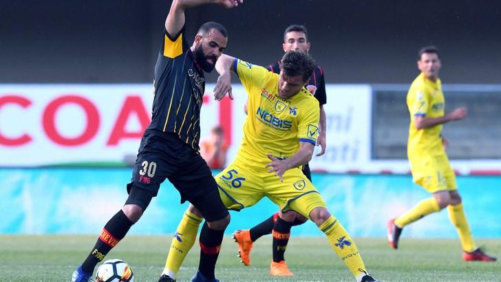 Serie A Chievo, costola rotta: Hetemaj ai box