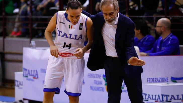 Nazionale femminile, domani Italia-Israele